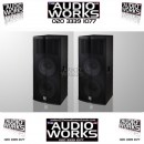 PAIR ELECTROVOICE TX2152 1000W RMS PROFESSIONAL LOUDSPEAKERS