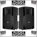 PAIR RCF ART 415-A MK2 400W PROFESSIONAL ACTIVE LOUDSPEAKERS