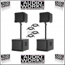 MACKIE DLM12 DLM12S 8000W PROFESSIONAL ACTIVE PA SYSTEM