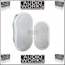 PAIR ELECTROVOICE EVID FM 6.2 FLUSH MOUNT 150W IN WALL SPEAKERS