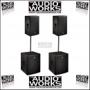 ELECTROVOICE LIVE X ELX115P / ELX118P 3400W ACTIVE PA PACKAGE