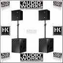 HK AUDIO CTA 208 / CTA 118 CONTOUR ARRAY 4000W ACTIVE PA SYSTEM