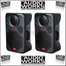 PAIR HZ Z500 500W PROFESSIONAL LOUDSPEAKERS