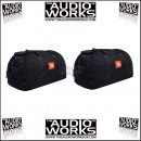 PAIR JBL EON 315 / 515 HEAVY DUTY COVERS / CARRY BAGS