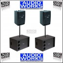 PROEL FLASH8A SW110A 960W ACTIVE PA SYSTEM