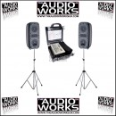 STUDIOMASTER RUNABOUT 200W PORTABLE ACTIVE PA SYSTEM