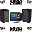 WHARFEDALE PRO PMX 500 POWERED PA SYSTEM